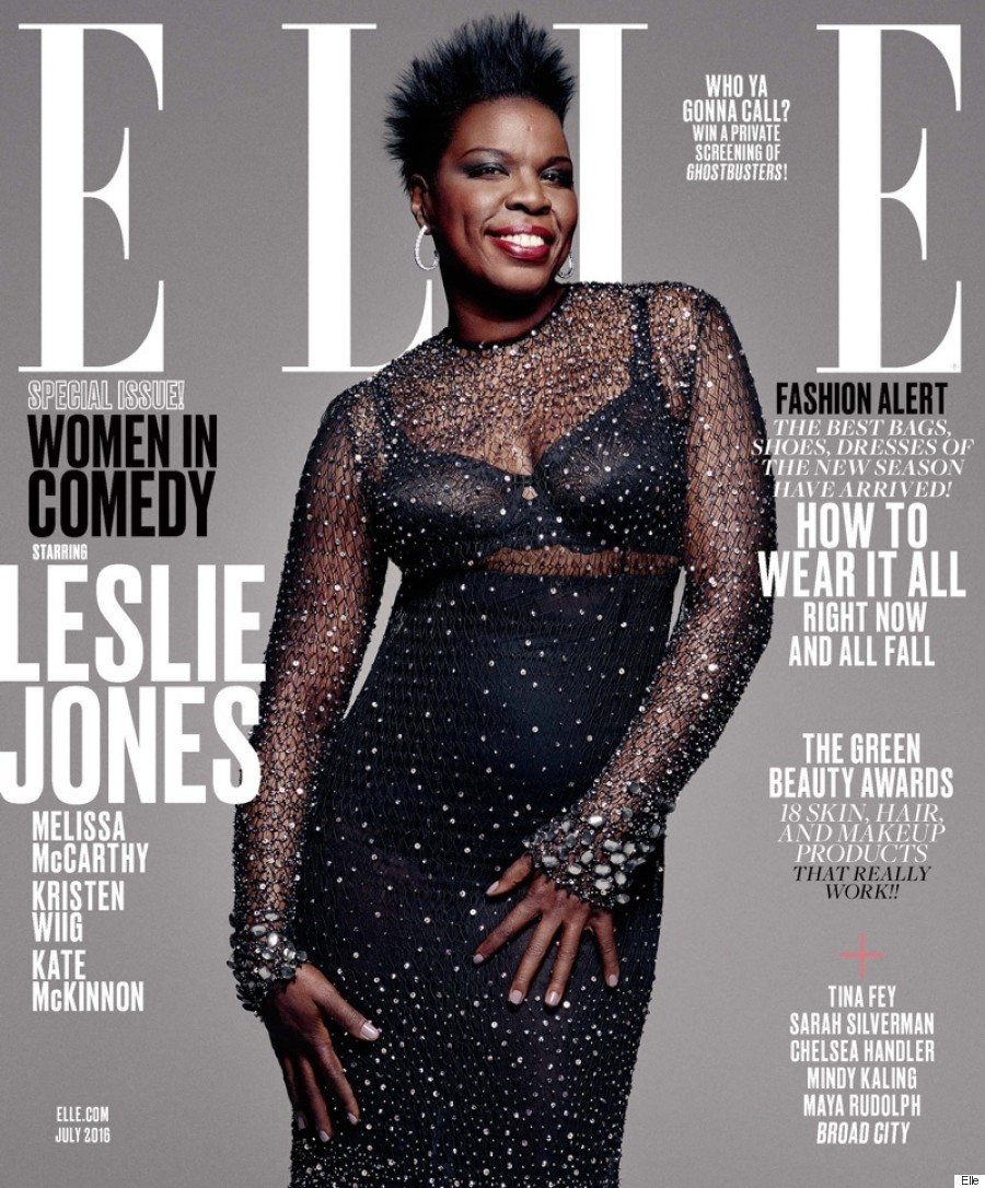 leslie jones elle cover
