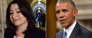MARYAM MONSEF BARACK OBAMA