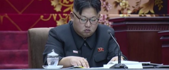 KIM JONG UN DROWSE