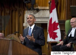 Obama Makes Historic Speech To Packed Parliament
