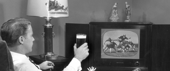 WATCH TV WITH BEER