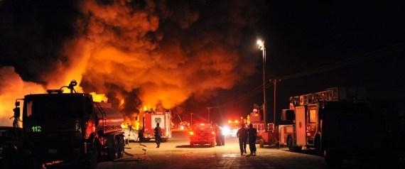 KUWAIT FIRE