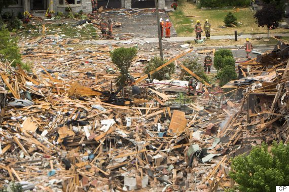 mississauga home explosion