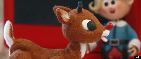 Girl Reindeer in Rudolph Rudolph The Red Nosed Reindeer
