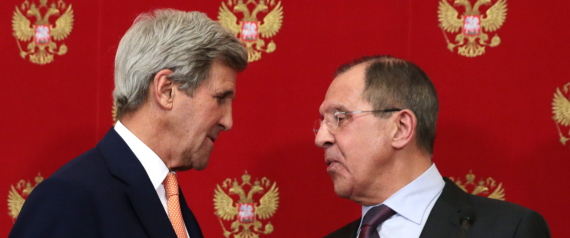FOREIGN MINISTERS OF RUSSIA AND THE US