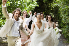 Groom, brides and wedding guests | Pic: Getty Images
