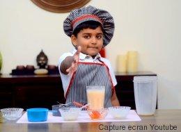 À 6 ans, ses recettes de cuisine connaissent un énorme succès (VIDÉO)