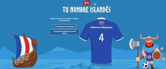 NOMBRE ISLANDES
