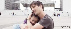 padre abrazo