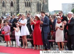 Trudeau Stresses Diversity In Canada Day Address