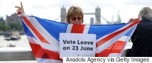 LEAVE BREXIT PROTEST