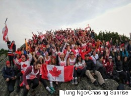Our Anthem On Top Of A B.C. Mountain Is Perfect For Canada Day