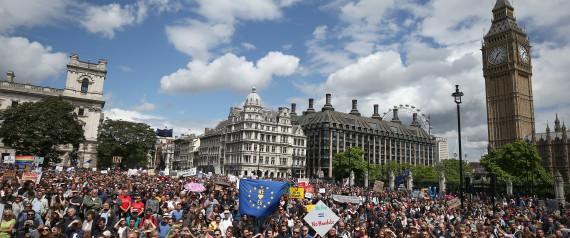 PROTEST BREXIT LONDON