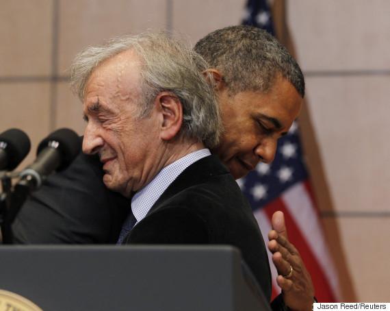 elie wiesel barack obama