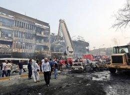 Al menos 119 muertos en dos atentados del ISIS en Bagdad