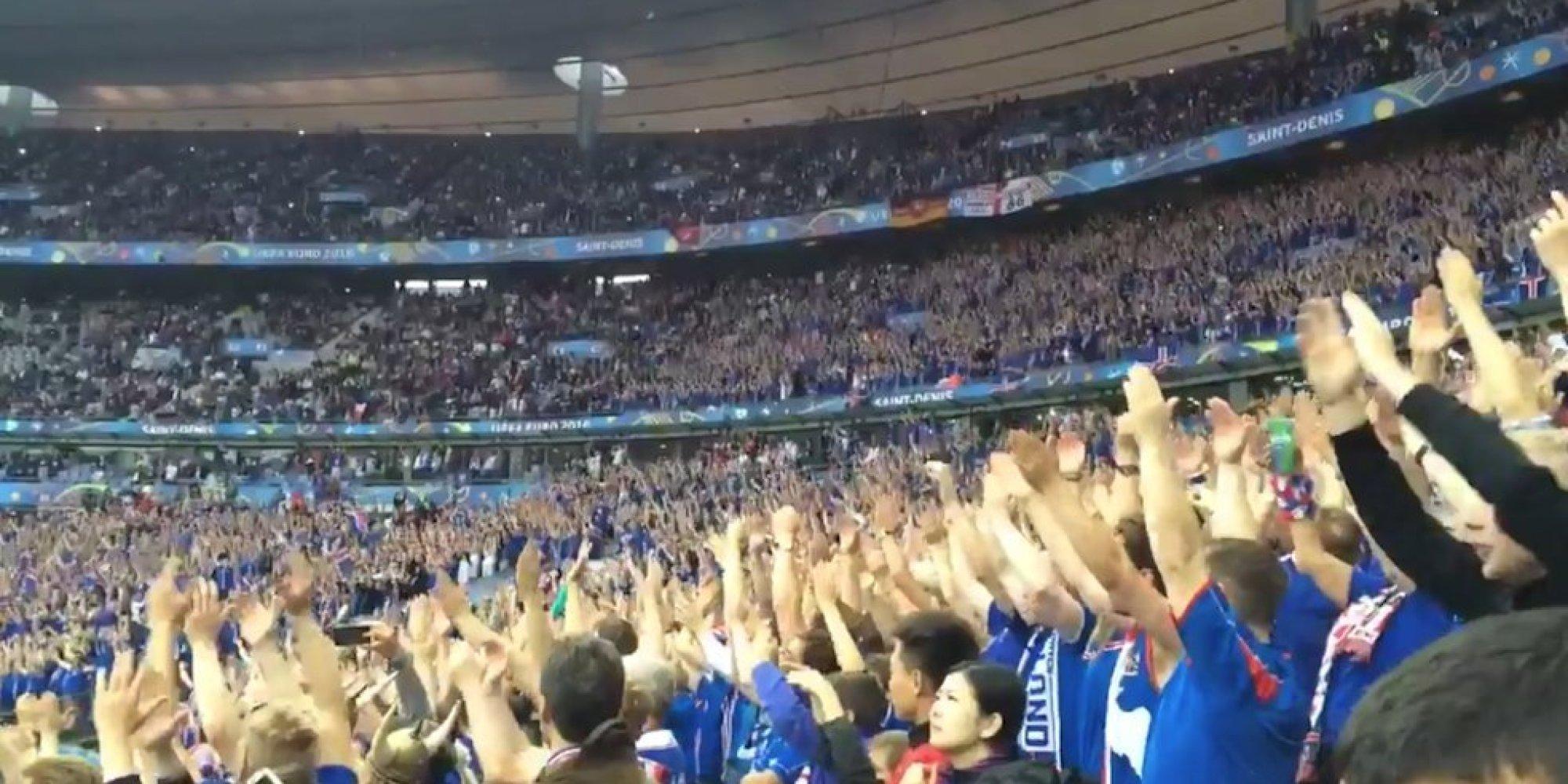 France - Islande: Le Stade de France a adopté le clapping des ...