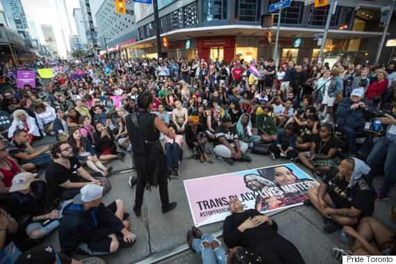 toronto trans march 2016