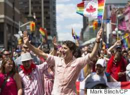 Trudeau Makes History By Marching In Toronto Pride Parade