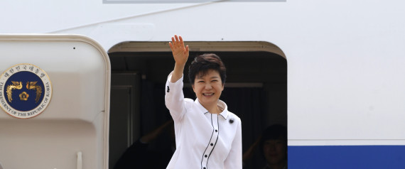PARK GEUN HYE AIRPLANE