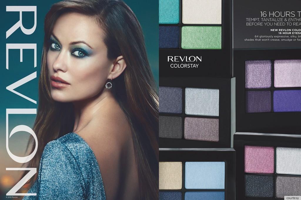 Olivia Wilde & Emma Stone Go Retro For Revlon 2012 Ads (PHOTOS ...
