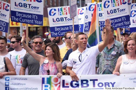 conservatives pride parade