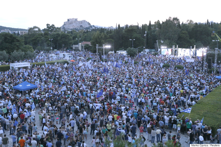 yes rally greece