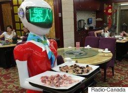 La révolution des robots arrive en Chine (VIDÉO)