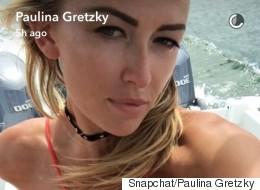 Paulina Gretzky Celebrates The Fourth Of July In A Sexy Bikini