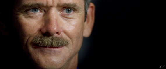 CHRIS HADFIELD CANADA SPACE PROGRAM