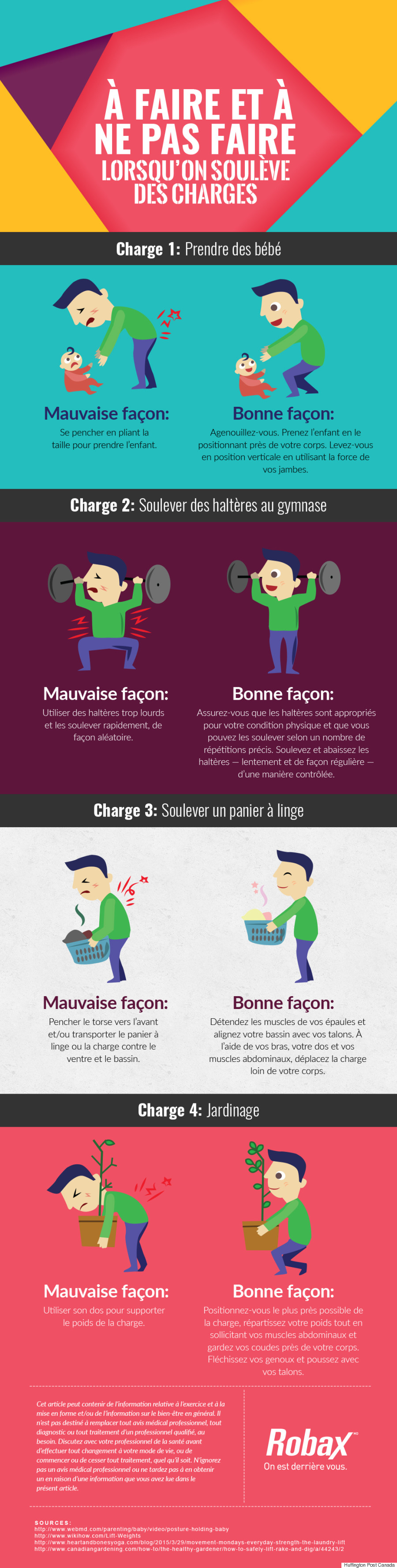 robax french infographic