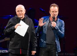 Découvrez le tour de chant de Sting et Peter Gabriel en PHOTOS