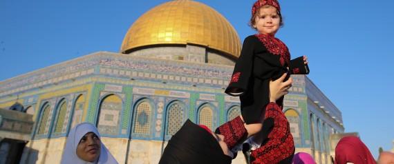 AID EL FITR  JERUSALEM