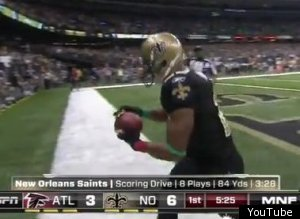 Pierre Thomas Touchdown