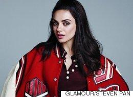 Mila Kunis sans maquillage pour le magazine Glamour