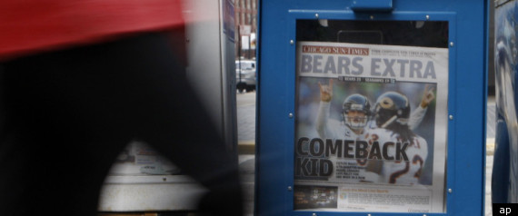CHICAGO SUNTIMES SOLD