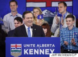 Unexpected Supporter Shows Up To Back Kenney's Alberta PC Bid