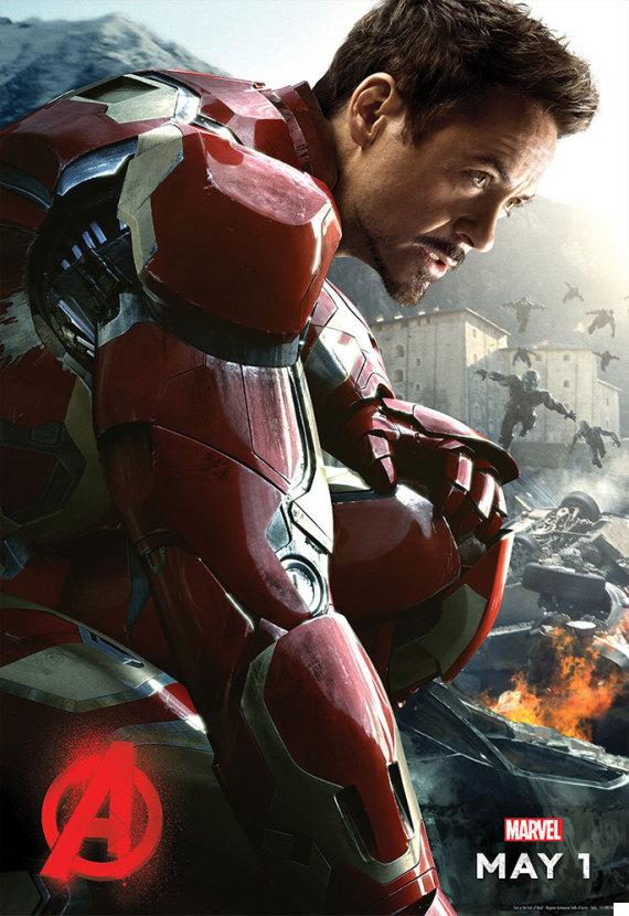 iron man robert