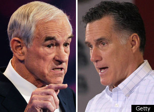 Mitt Romney Ron Paul