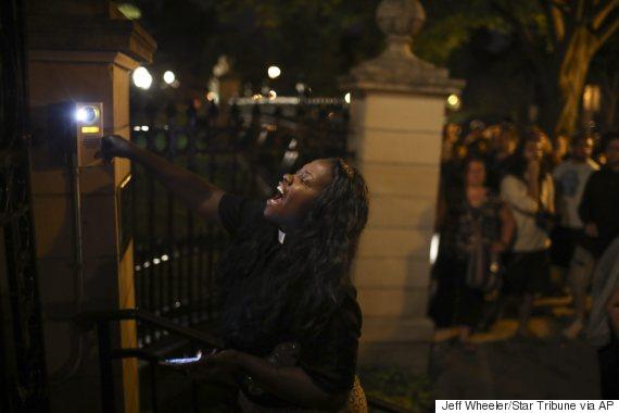 philando castile shooting protest