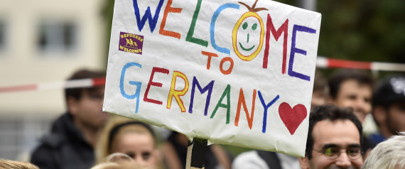 REFUGEES WELCOME GERMANY