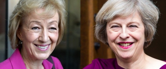 ANDREA LEADSOM THERESA MAY