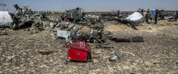 EGYPTIAN PLANE WRECKAGE