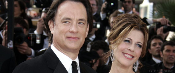tom hanks y su esposa