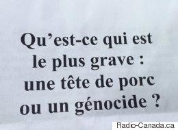 Des pamphlets islamophobes distribués à Québec
