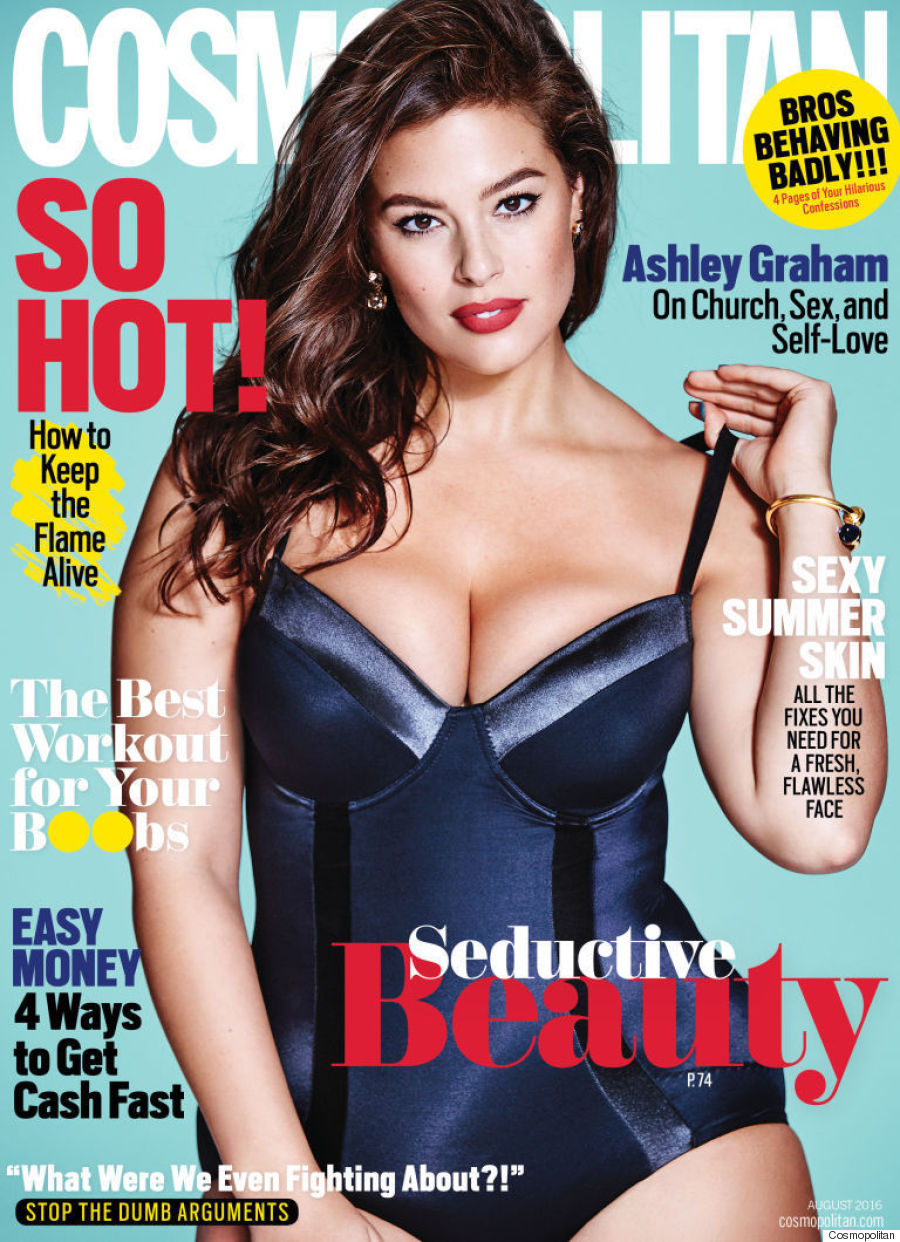 ashley graham cosmo