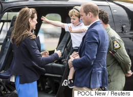 Prince George Throws Royal Tantrum At Air Show