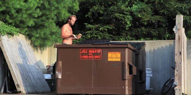 Dumpster diving huffpost
