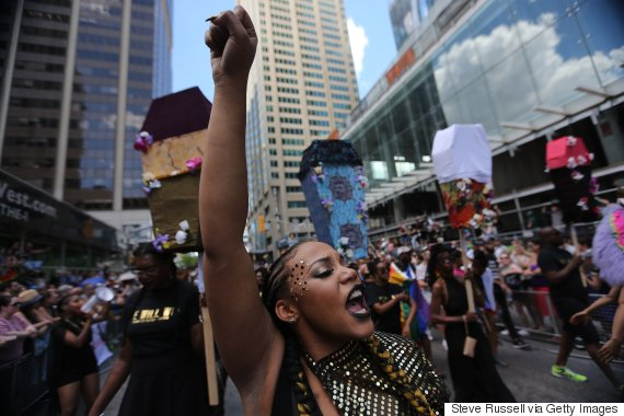 black lives matter pride