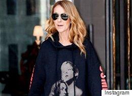 Céline Dion nous fait vivre un moment avec ce coton ouaté parfait