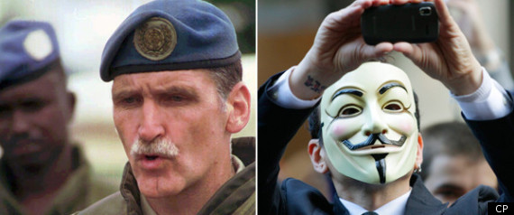 ROMEO DALLAIRE ARAB SPRING OCCUPY WALL STREET